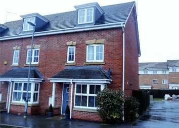 Thumbnail 4 bed end terrace house for sale in Samian Close, Worksop, Nottinghamshire