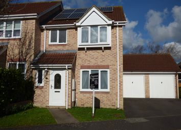 Thumbnail 3 bed end terrace house for sale in Campion Close, Gillingham