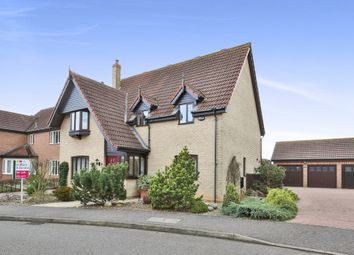 Thumbnail 4 bedroom detached house for sale in Wheatcroft Way, Dereham