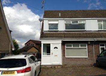 Thumbnail 3 bed semi-detached house to rent in Cramfit Close, North Anston, Sheffield