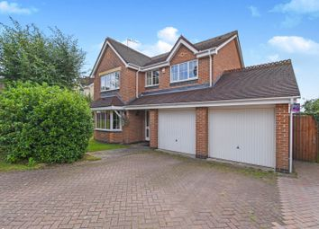Thumbnail 4 bed detached house for sale in Woodleigh Road, Coventry