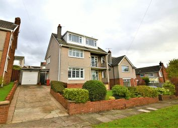 Thumbnail 5 bed detached house for sale in Heol Y Coed, Rhiwbina, Cardiff.