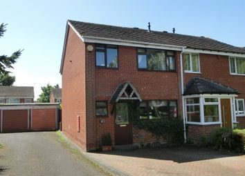 Thumbnail 3 bed end terrace house for sale in Beechwood Close, Shirley, Solihull