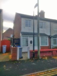 Thumbnail 3 bed semi-detached house for sale in Wellington Street, Stretford, Manchester, Greater Manchester