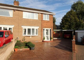 Thumbnail 3 bedroom semi-detached house for sale in Bean Avenue, Worksop