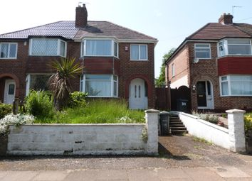 Thumbnail 3 bed semi-detached house to rent in Clay Lane, South Yardley, Birmingham