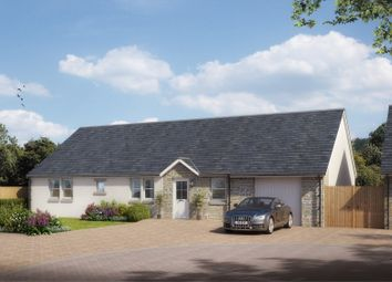 Thumbnail 3 bedroom bungalow for sale in Castlegait Development, Glamis, Nr. Forfar