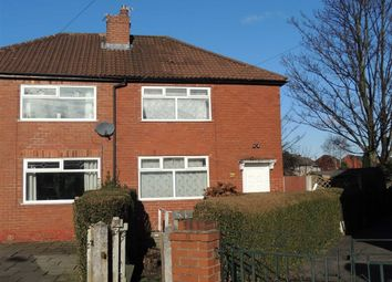 Thumbnail 3 bed semi-detached house for sale in Fovant Crescent, Reddish, Stockport