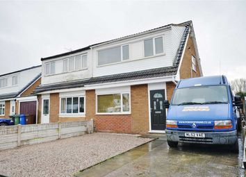 Thumbnail 3 bed semi-detached house for sale in Stratton Drive, Platt Bridge, Wigan