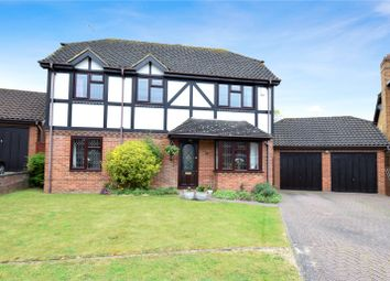 Thumbnail 4 bed detached house for sale in Beaton Close, Greenhithe, Kent