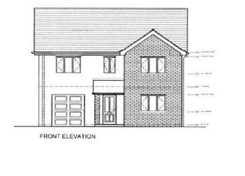 Thumbnail 4 bedroom detached house for sale in Plot B, Cwrt Y Gamlas, Ystradgynlais, Swansea