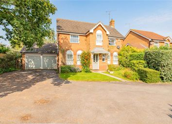 Thumbnail 4 bed detached house for sale in Anthian Close, Woodley, Reading