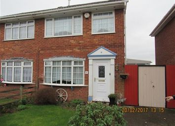 Thumbnail 4 bed semi-detached house to rent in Alnwick Drive, Moreton, Wirral