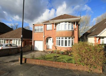 Thumbnail 4 bed detached house for sale in Redhill Close, Southampton