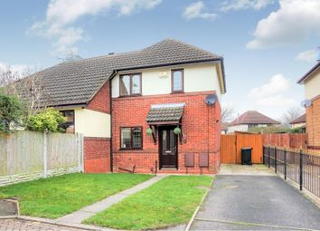 Thumbnail 2 bedroom semi-detached house for sale in Pearce Close, Dudley