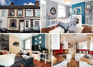 Thumbnail 2 bedroom terraced house for sale in Aberystwyth Street, Cardiff