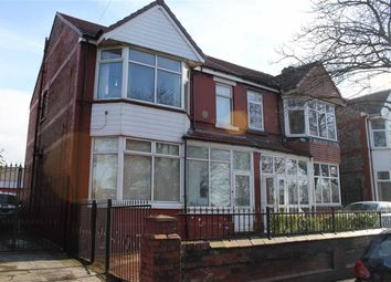 Thumbnail 4 bedroom semi-detached house for sale in Northmoor Road, Longsight, Greater Manchester