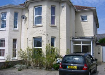 Thumbnail 1 bedroom semi-detached house to rent in Southcote Road, Bournemouth
