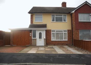 Thumbnail 3 bedroom semi-detached house to rent in Far Vallens, Hadley, Telford