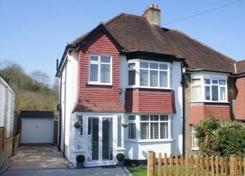 Thumbnail 3 bed semi-detached house for sale in Burwood Avenue, Kenley, Surrey