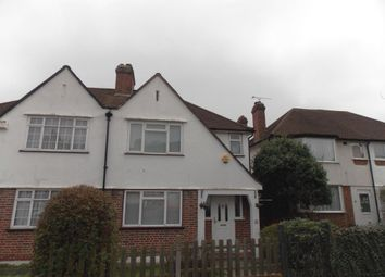 Thumbnail 3 bed semi-detached house to rent in Oakshade Road, Bromley