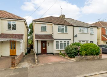 Thumbnail 3 bed semi-detached house for sale in Kings Road, New Haw, Addlestone