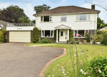Thumbnail 4 bed detached house for sale in Vicarage Lane, Ropley, Alresford, Hampshire