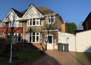 Thumbnail 3 bedroom semi-detached house for sale in Stonor Road, Birmingham, West Midlands
