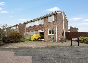 Thumbnail 3 bed semi-detached house for sale in The Mallards, St. Ives, Huntingdon
