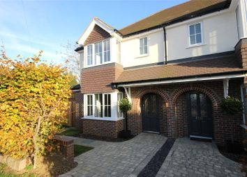 Thumbnail 4 bed semi-detached house for sale in Sibley Avenue, Harpenden, Hertfordshire