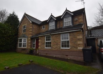 Thumbnail 5 bed detached house to rent in Ash Way, Westlands, Newcastle