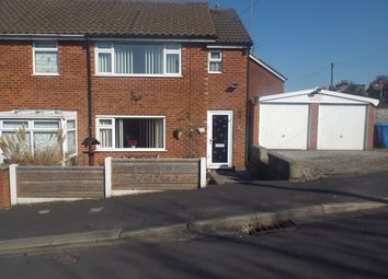 Thumbnail 1 bed semi-detached house to rent in Cliffe Drive, Whittle-Le-Woods, Chorley