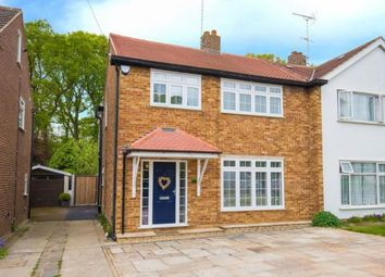 Thumbnail 4 bed semi-detached house for sale in Walton Gardens, Hutton, Brentwood, Essex