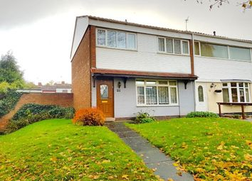 Thumbnail 3 bedroom end terrace house for sale in Farhill Close, West Bromwich, West Midlands