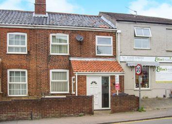 Thumbnail 3 bedroom terraced house for sale in Waterloo Road, Norwich