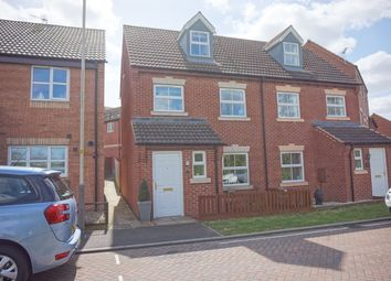 Thumbnail 3 bed semi-detached house for sale in Snape Close, Hamilton, Leicester
