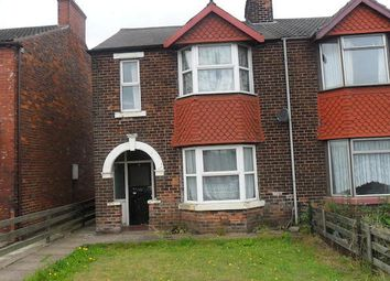 Thumbnail 3 bed semi-detached house to rent in Station Road, Scunthorpe