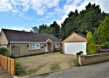 Thumbnail 3 bed detached bungalow for sale in Church Lane, Tallington, Stamford