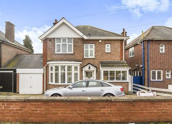 Thumbnail 3 bedroom detached house for sale in Kingsway Road, Leicester