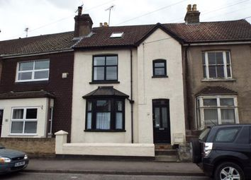 Thumbnail 3 bed terraced house for sale in Bush Road, Cuxton, Rochester, Kent