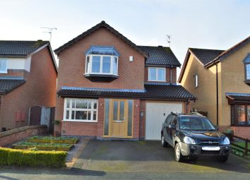 Thumbnail 4 bed detached house for sale in Lindisfarne Drive, Loughborough
