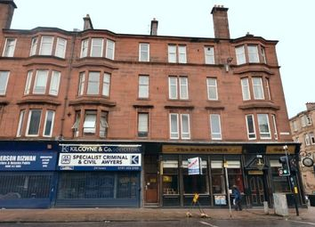 Thumbnail 1 bed flat for sale in 347 Victoria Road, Glasgow