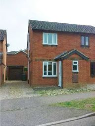 Thumbnail 2 bed semi-detached house to rent in Admirals Way, Hethersett, Norwich