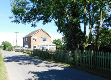 Thumbnail 3 bed detached house for sale in Burgh Lane, Bratoft, Skegness