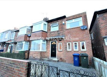 Thumbnail 4 bed semi-detached house to rent in Elmfield Grove, Gosforth