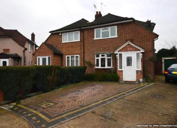 Thumbnail 3 bed semi-detached house to rent in St. Laurence Close, Uxbridge
