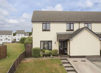Thumbnail 3 bed semi-detached house for sale in Beckett Close, Redruth