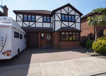 Thumbnail 4 bed detached house for sale in Chestnut Grove, Benfleet