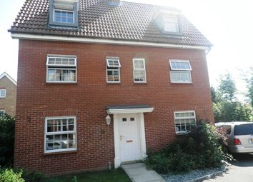 Thumbnail 5 bedroom detached house to rent in Chaffinch Road, Bury St. Edmunds