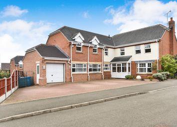 Thumbnail 5 bed detached house for sale in Porters Lane, Oakwood, Derby